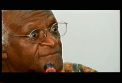 Bishop Desmond Tutu at Expo 2000 Hanover - Chris Murphy Director of Photography